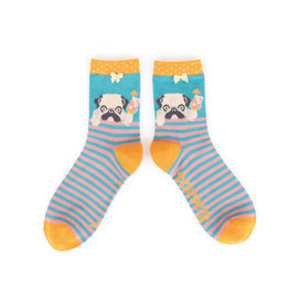 POWDER COCKTAIL PUG SOCKS