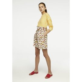 BRIGHT INSECT PATTERN SKIRT