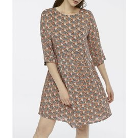 SALE- GRAPHIC FISH PATTERN DRESS
