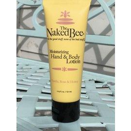 Naked Bee  Lotion VANILLA ROSE small