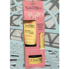 Naked Bee Gift Set GRAPEFRUIT