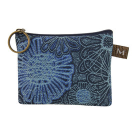 MARUCA COIN PURSE - BLUE BLOOMS