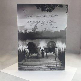 Sympathy Card Tears of Grief
