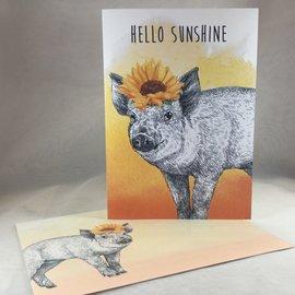 Thinking of You Card Hello Sunshine