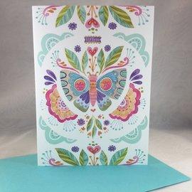 Friend Love Card Butterfly
