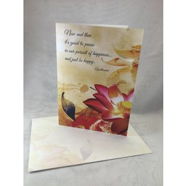Retirement Card Happiness Dragonfly