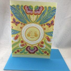 Thank You Card Spring Sun