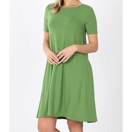 SALE- KIWI SHORT SWINGY DRESS- WAS $28