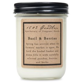 1803 CANDLE BASIL & BERRIES