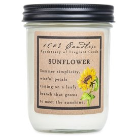1803 CANDLE SUNFLOWER