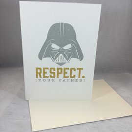 Father's Day card Respect