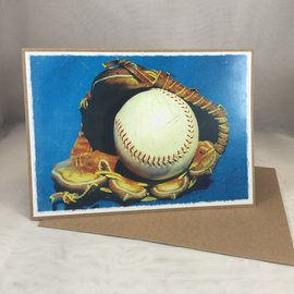Father's Day Card Baseball