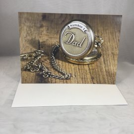 Father's Day Card Pocket Watch