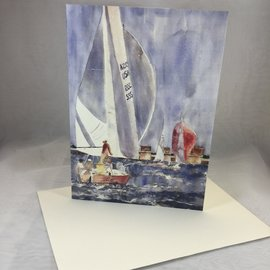 Father's Day Card Sailing