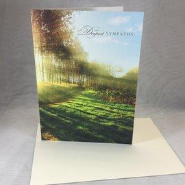 Sympathy Card Green Pasture