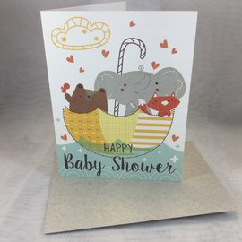 New Baby Shower Card Happy