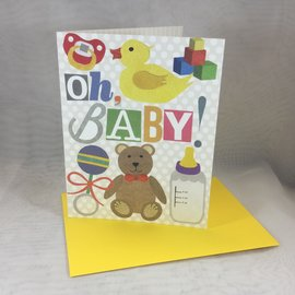 New Baby Card Oh Baby