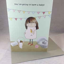 New Baby Expecting Card Baby Adventure