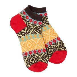 WORLD'S SOFTEST FOOTSIE SOCK - FIESTA