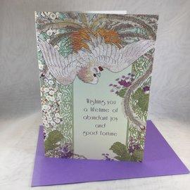 Wedding Card Magical Bird