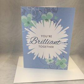 Wedding Card Brilliant Together