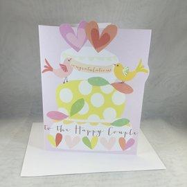 Wedding Card Happy Couple