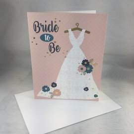 Wedding Card Bride-to-Be Dress