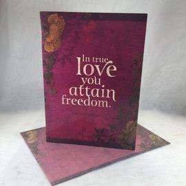 Wedding Card In True Love