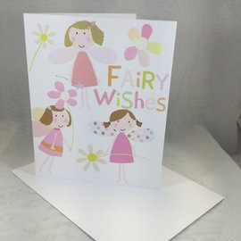 Birthday Card Fairy Wishes