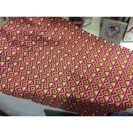 GLOBAL VILLAGE DISHTOWEL- MELON TRIANGLES