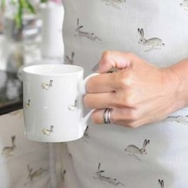 Bone China Bunnies Mug