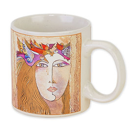 Laurel Burch Soul Tears Mug
