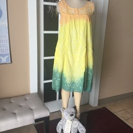 SALE!! SUNRISE TIE DYE NIGHTGOWN
