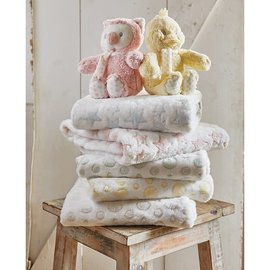 LAMBY SET - BLANKET, RATTLE, PLUSH TOY