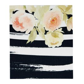 FLORAL-2 ORGANIC DISH CLOTH