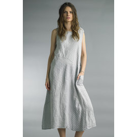 SALE- STRIPE LINEN DRESS- WAS $85