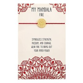 MY MANDALA BRACELET - FIRE