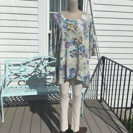 SALE- GARDEN TENCEL TUNIC- WAS $80