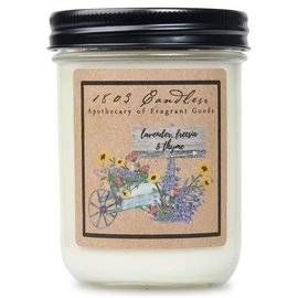 1803 CANDLE LAVENDER, FREESIA & THYME
