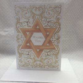 Special Occasion Card Mazel Tov (blank)
