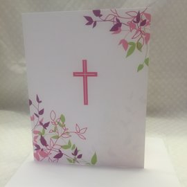 Special Occasion Card First Communion (pink)