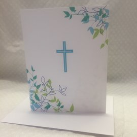Special Occasion Card First Communion (blue)