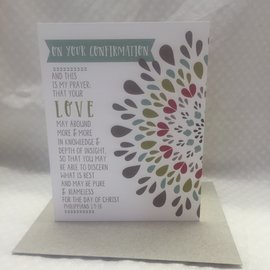 Special Occasion Card Confirmation