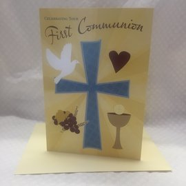 Special Occasion Card First Communion