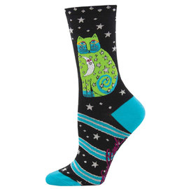 LAUREL BURCH CELESTIAL MOON SOCKS