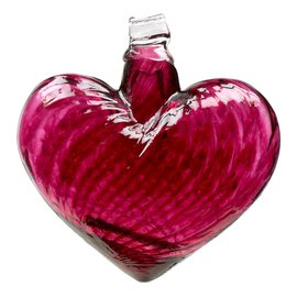 KITRAS Glass Heart Pink