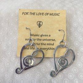 LOVE OF MUSIC PETITE EARRINGS