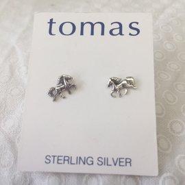 Tiny Horse Post Earrings