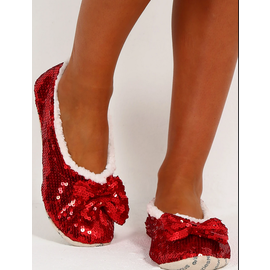 THERE'S NO PLACE LIKE HOME RUBY RED SLIPPERS