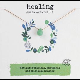 SOULKU GREEN AVENTURINE NECKLACE HEALING